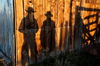 Cowboy Shadows, Idaho